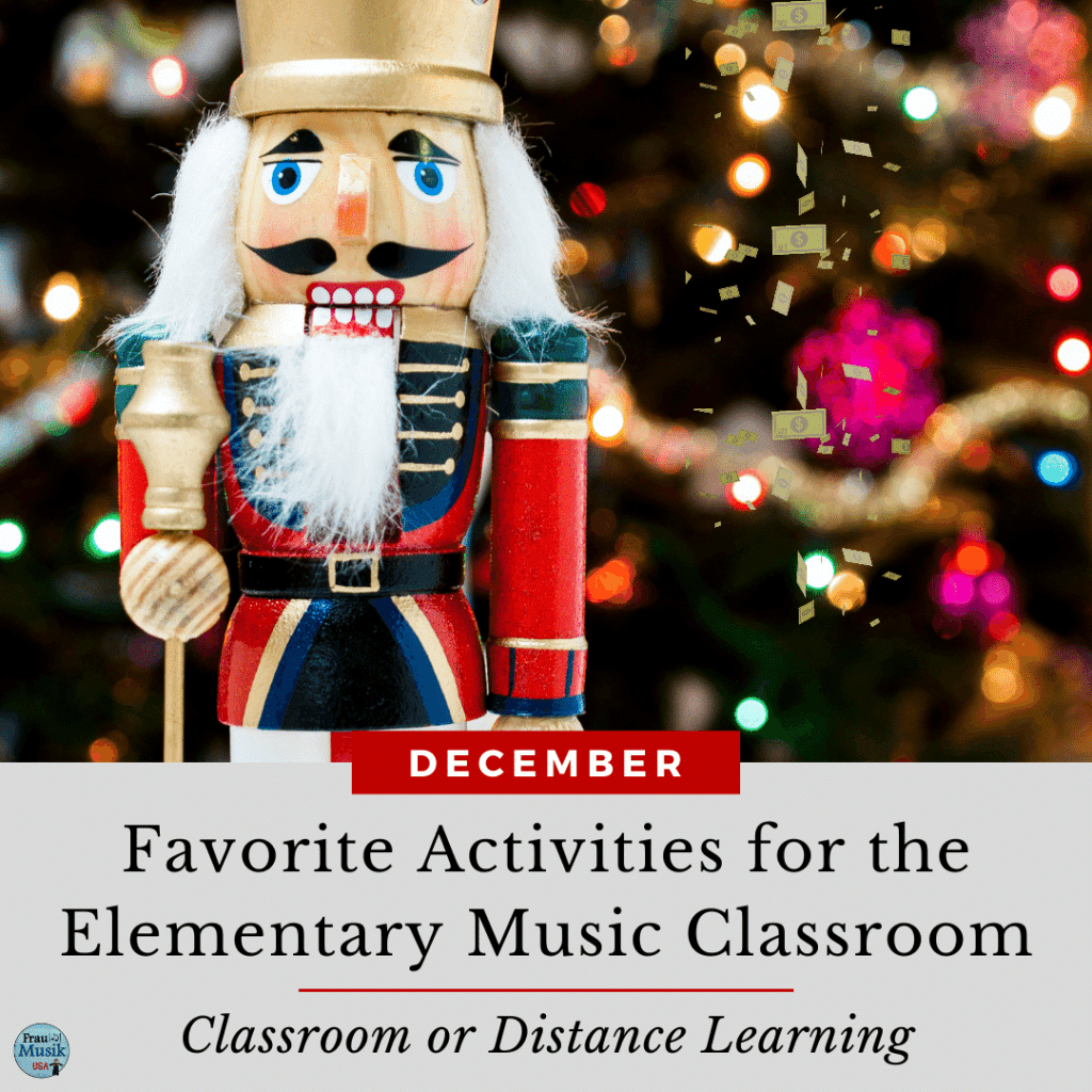 Elementary Music Class Activities for Classroom or Distance Learning | December Favorites