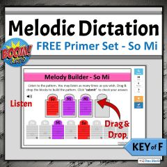 FREE Online Music Literacy Activities for Elementary Music Classroom or Distance Learning