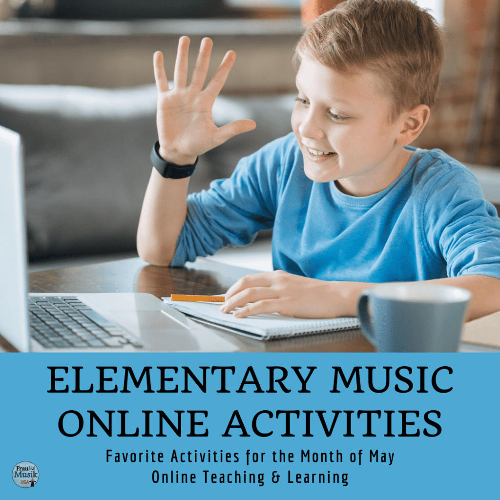 Elementary Music Online Activities for Teaching and Learning | May Favorites