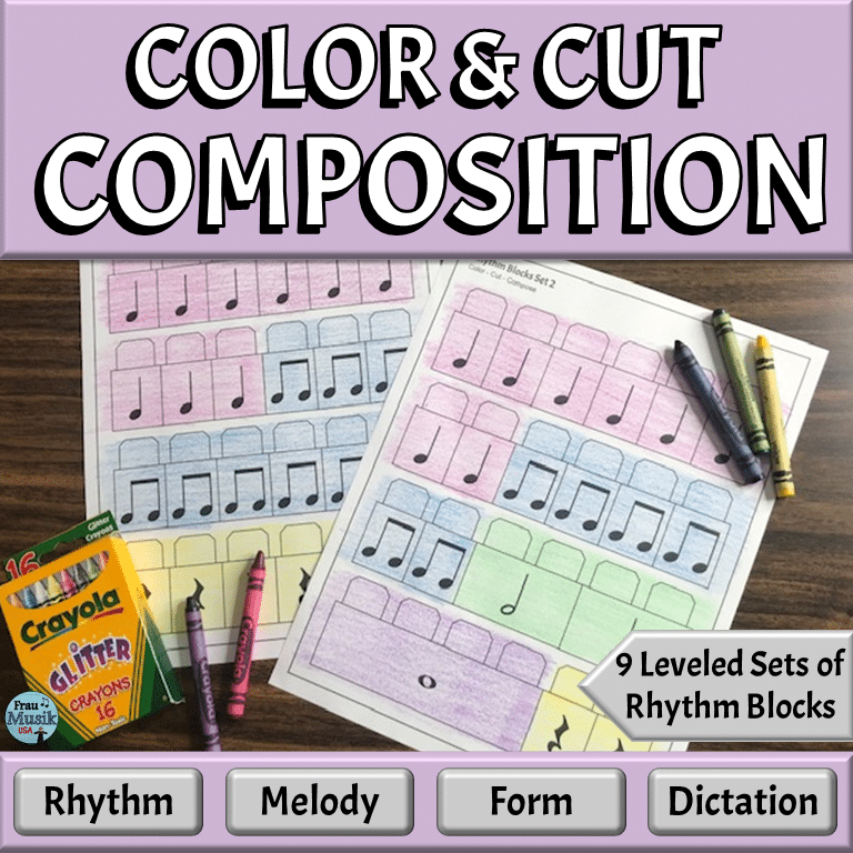 Music Composition Templates for Elementary Grades | Printables