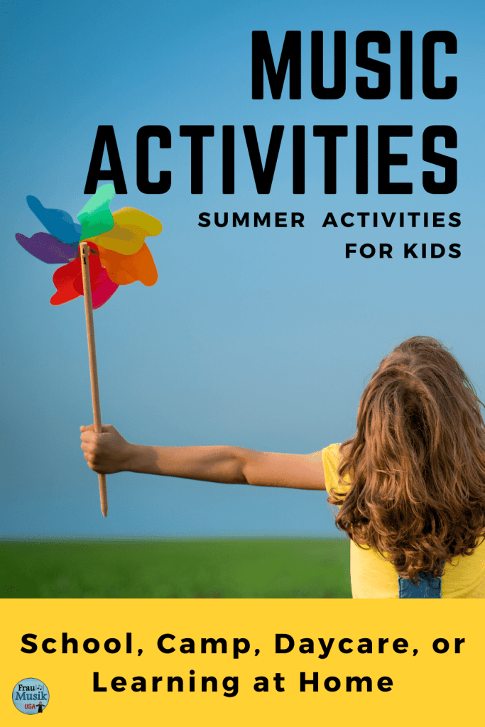 Music Activities for Elementary Students | Summer Activities for Learning at Home, Camp, or School