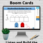 FREE Music Literacy Boom Cards - Sign Up for Our Newsletter | Music Classroom, Homeschool, Studio