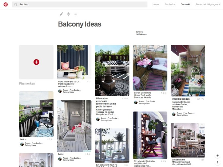 pinterest_balcony Ideas