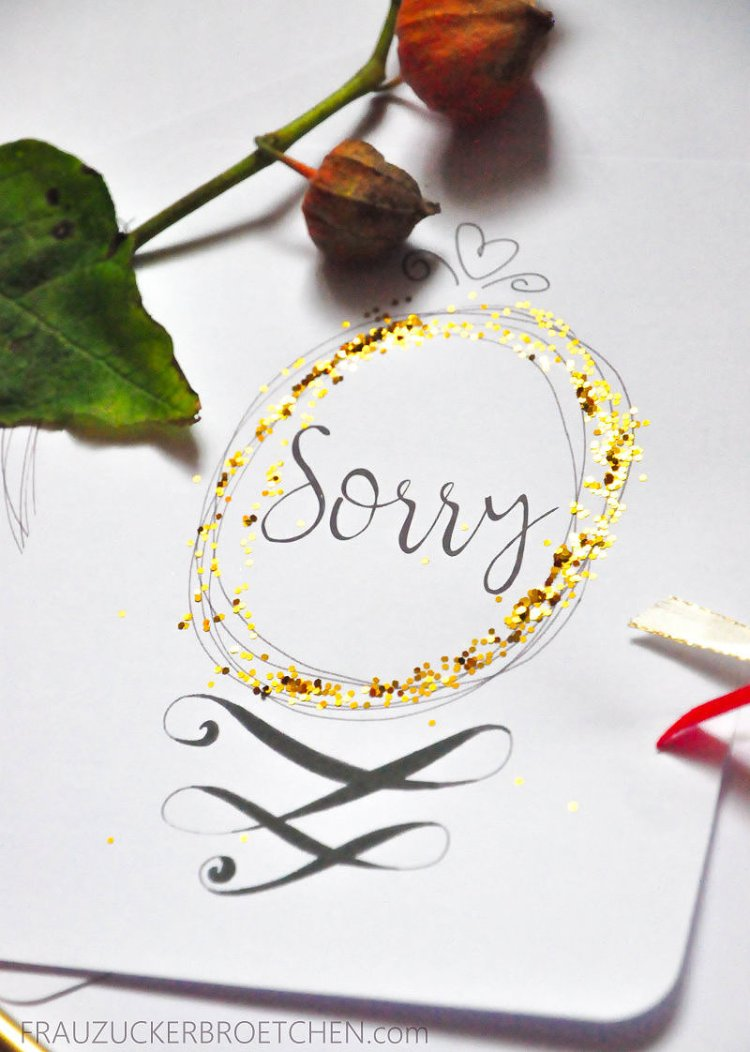 Wenn es Zeit ist auch mal Sorry zu sagen