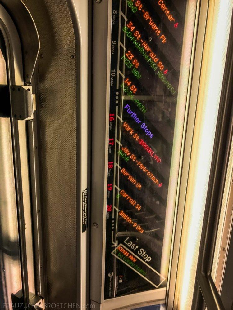 New Yorker Metro durch meine Linse12_ Herbst 2017