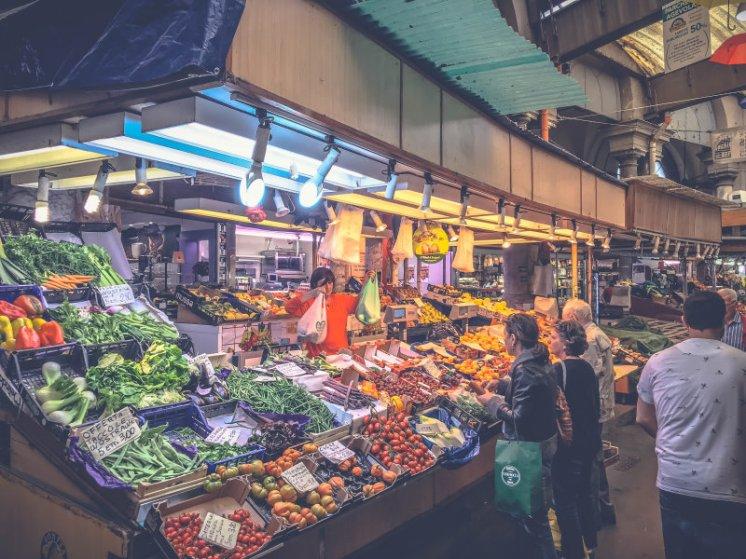 Der oriantalische Markt Genua6