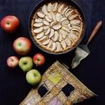 {Rezept} Apfelkuchen mit Pudding-Zimt Füllung