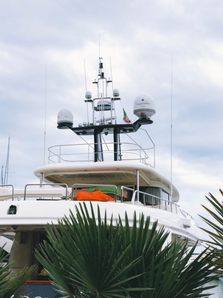 Am Jachthafen von Sanremo - Italien