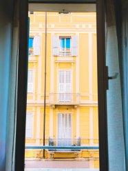 Der Blick aus unserem Hotelzimmer
