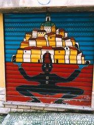 In den Gassen der Altstadt La Pigna Sanremo