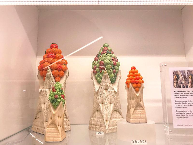 Gaudis Turmspitzen inspiriert von Kaki-Knospen