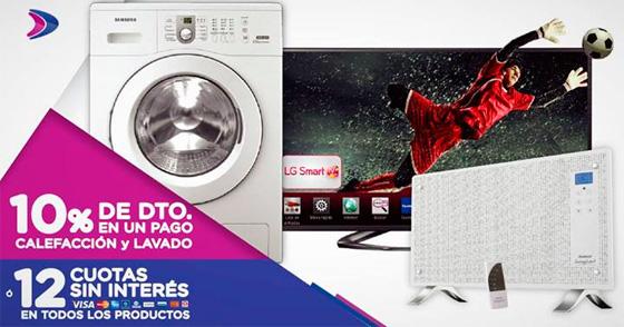 Ofertas electrodomésticos Fravega Argentina