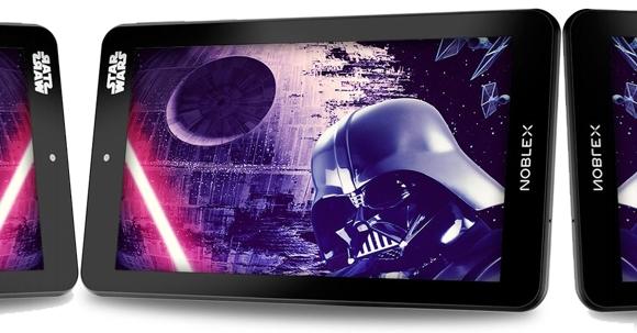 Tablet Noblex para fanáticos de Star Wars
