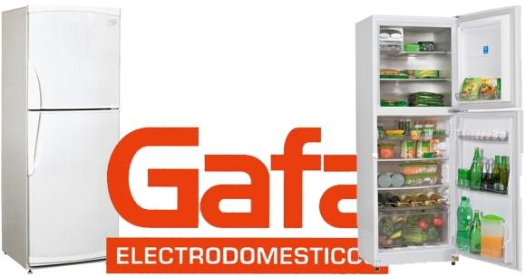 Heladera con freezer GAFA dos fríos Gafa