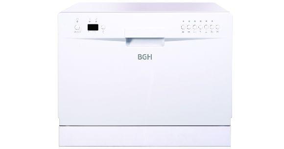 Eficiente y elegante Lavavajillas BGH para 6 cubiertos