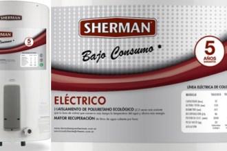 Calefón eléctrico Sherman 85lt