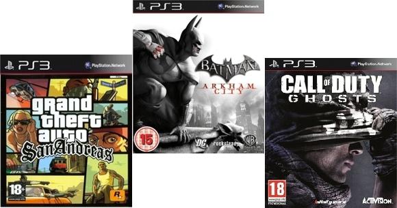 Videojuegos para PS3 en Frávega