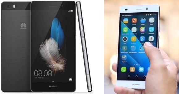 Celular Huawei P8 lite en Frávega