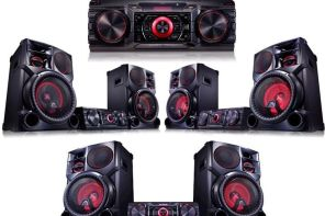 Equipo de audio LG minicomponente 2 parlantes