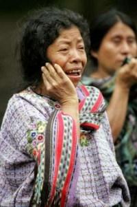 Dolor en Guatemala