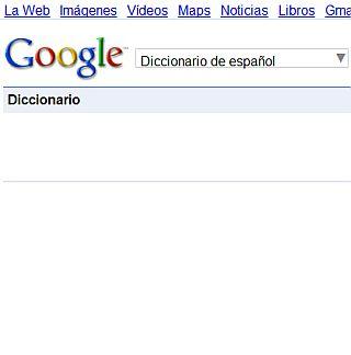 Diccionario google