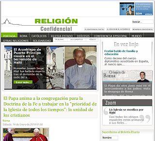 religion confidencial