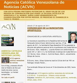 Agencia Catolica Venezolana