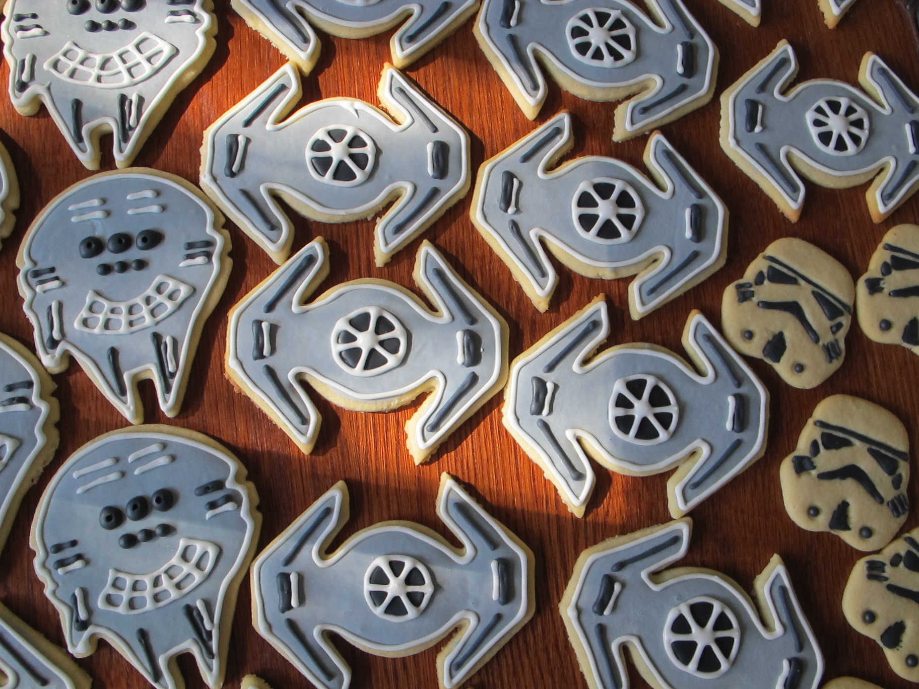 Tie Fighter Cookies Frazi S Cakes