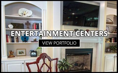 custom entertainment center builders greenville sc