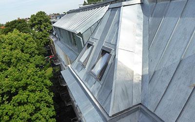 Dacheindeckungen durch frb Dachdecker, Bauklempnerei