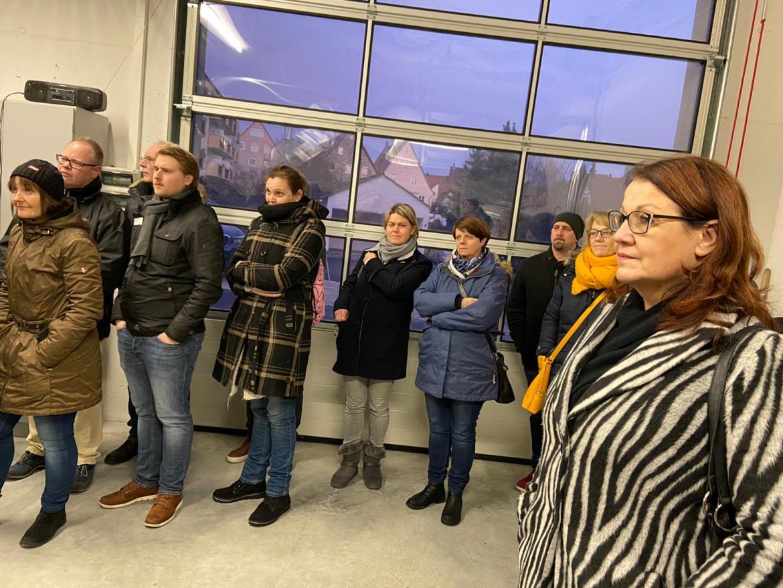 Besichtigung Blockheizwerk Bürgerbräu, HEWA