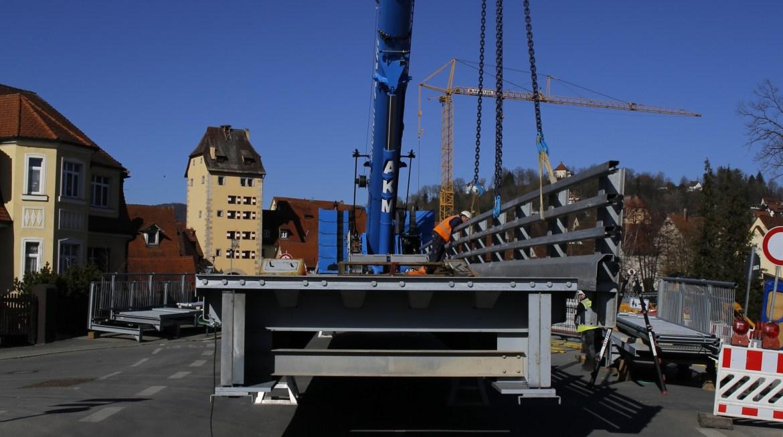 Baustelle Kuhpegnitzbrücke