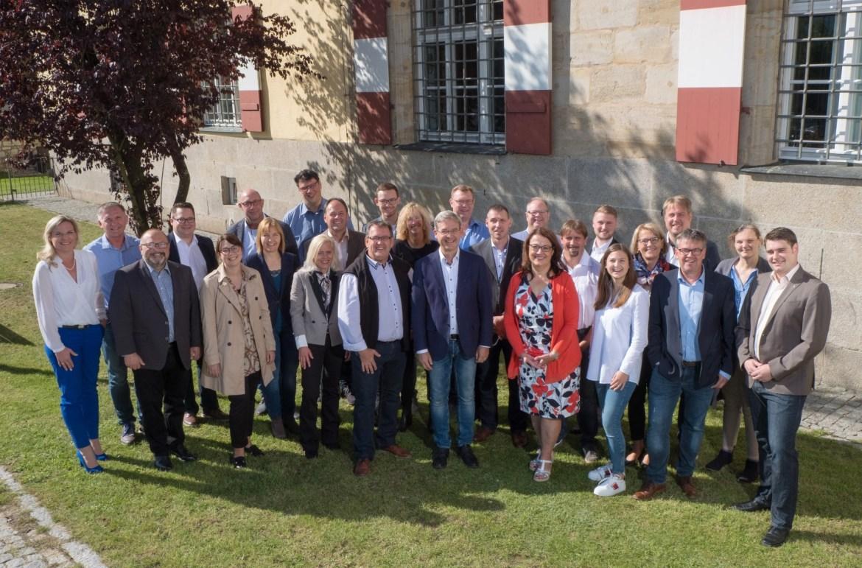 Gruppenfoto unserer Stadtratskandidaten