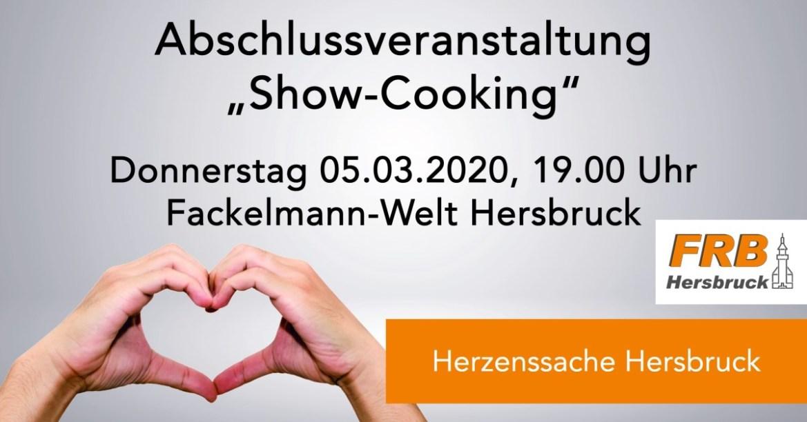"Abschlussveranstaltung ""Show-Cooking"""