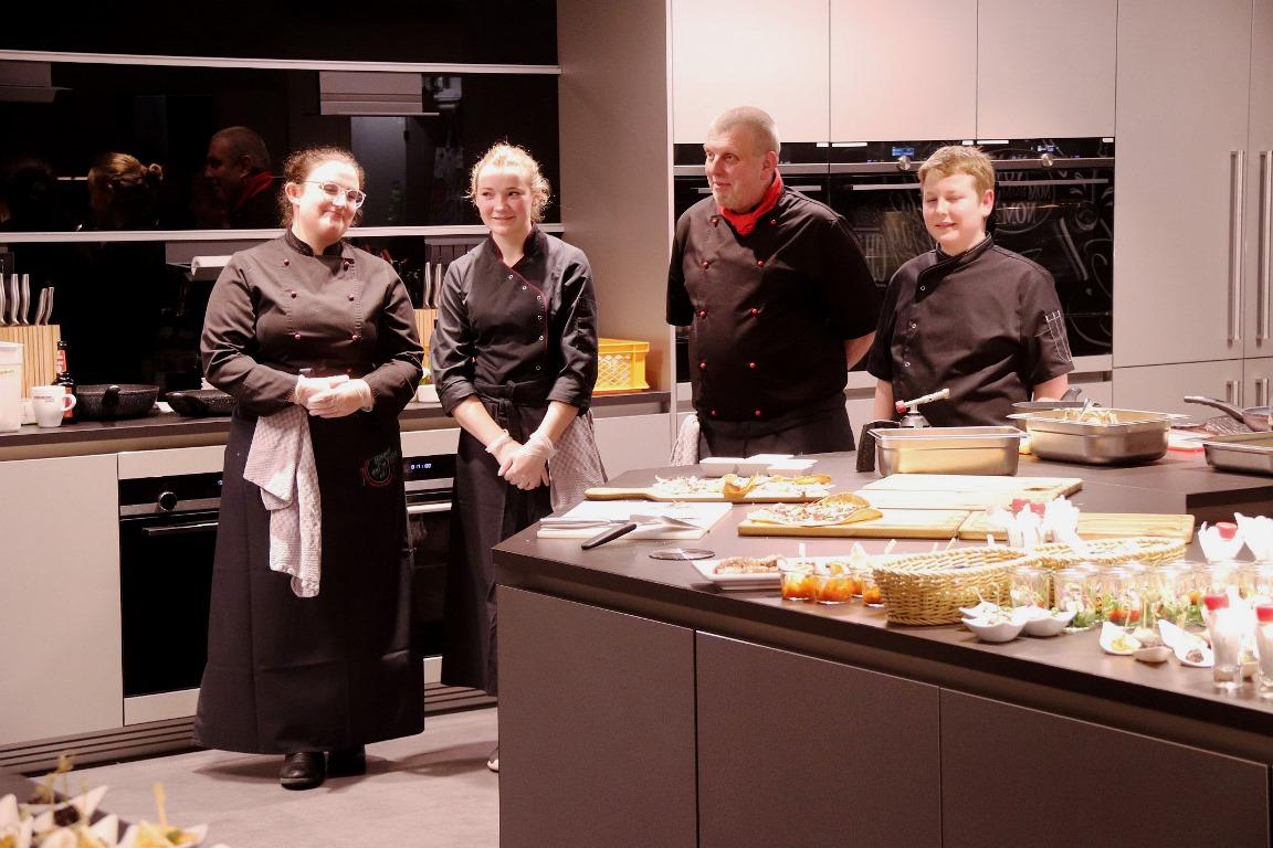 Show-Cooking in der Fackelmann Welt Hersbruck