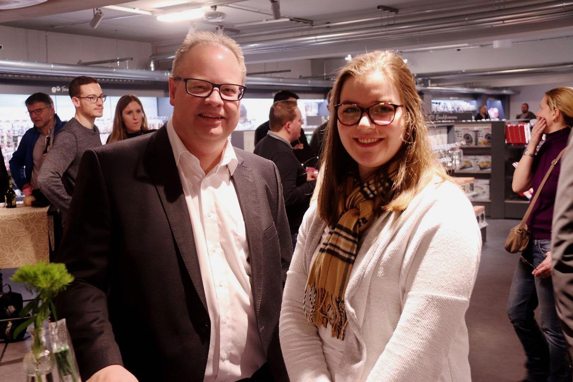 Show-Cooking in der Fackelmann Welt Hersbruck: Armin Mergl und Simone Ertel