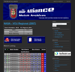 2007 Event Page