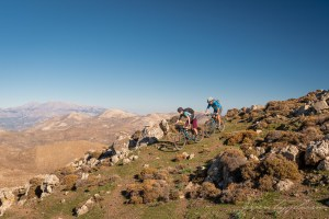 Freak Mountainbike Centre in the middle of Crete