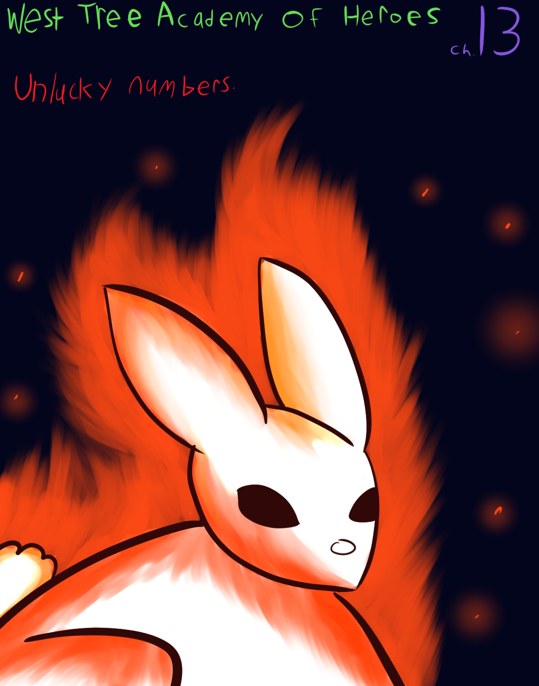 What is the fire rabbit? That will be important later my friend.