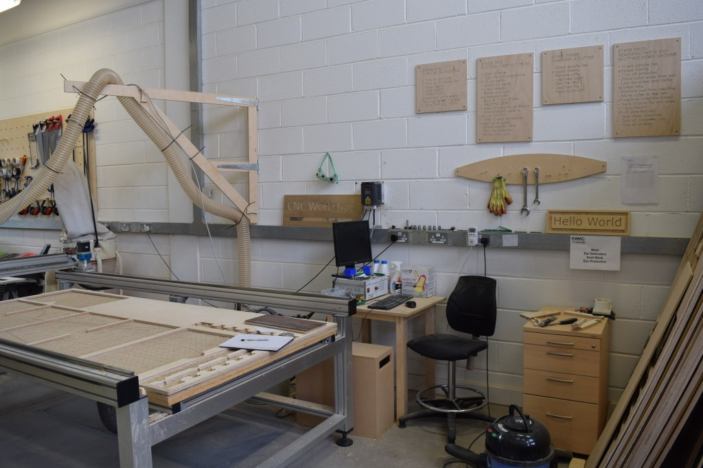 The Factory's CNC router