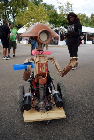 Robot at World Maker Faire