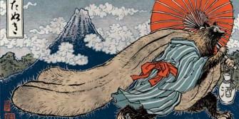 Imagen folclore, Tanuki