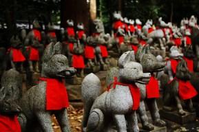 Estatuas Kitsune