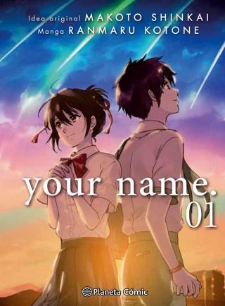 Sobrecubierta Your Name