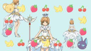 Cardcaptor Sakura Clear Card 17 traje blanco