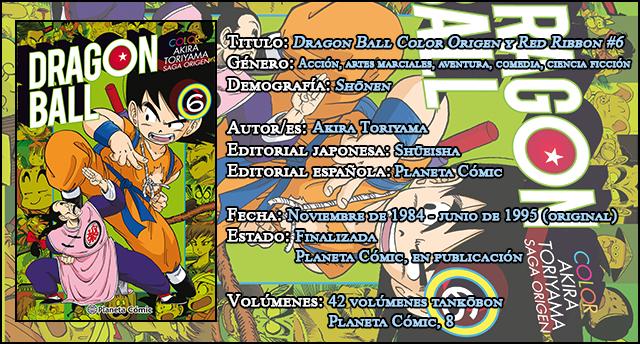 Dragon Ball Color Origen y Red Ribbon#6