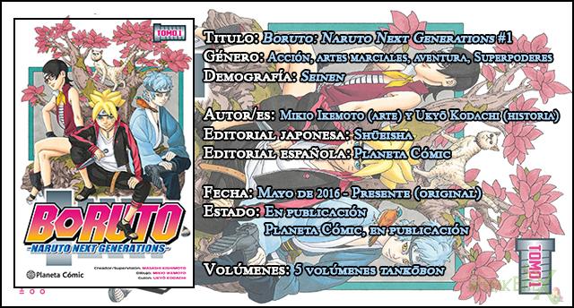 Boruto: Naruto Next Generations #1