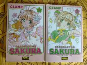 Cardcaptor Sakura Clear Card Arc #1 #2 sobrecubierta delantera
