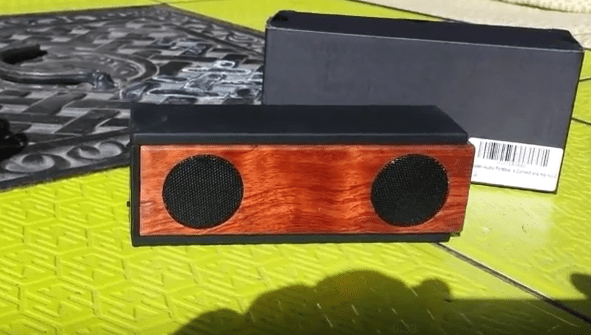 Wooden-audio BS001 Wooden Bluetooth 4.0 Speaker Bubinga Wood Review