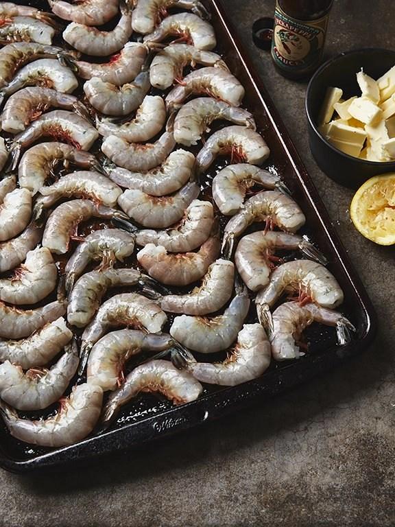 Gulf Shrimp - Quick Recipe Sheet Pan BBQ Shrimp